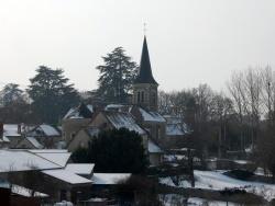 Photo paysage et monuments, La Bussière - Jeudi 11 Fevrier 10 un voile blanc recouvre notre petit village