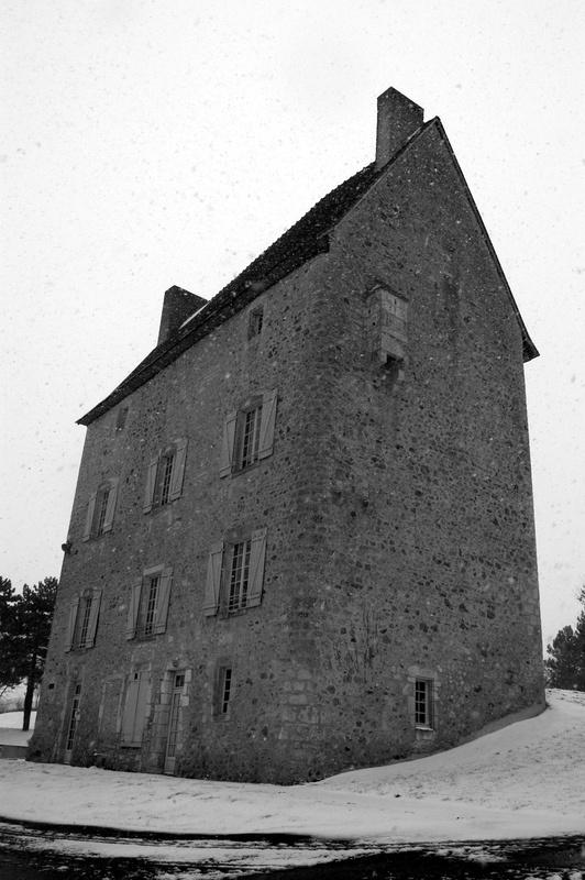 Photo La Bussière - Jeudi 11 Fevrier 10 un voile blanc recouvre notre petit village