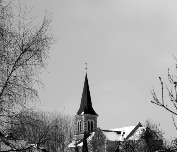 Jeudi 11 Fevrier 10 un voile blanc recouvre notre petit village