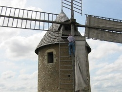 Photo paysage et monuments, Cherves - Le moulin Tol
