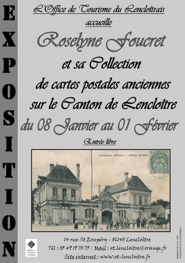 Exposition « le Canton de Lencloître en cartes postales anciennes »