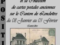 Exposition  le Canton de Lenclotre en cartes postales anciennes 