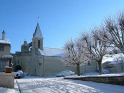 Photo paysage et monuments, Ranton - Ranton: église Saint Léonard sous la neige