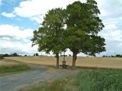Photo paysage et monuments, Ranton - Ranton: calvaire et chapelle de Saint Martin