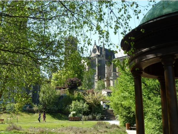 Photo Limoges - Cathédrale depuis le jardin