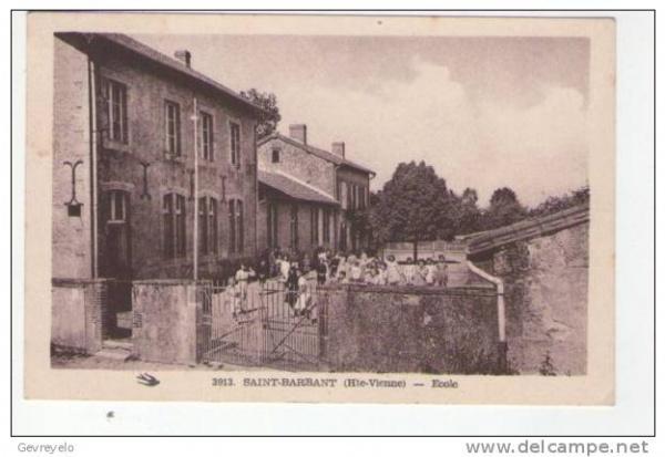 Photo Saint-Barbant - ecole