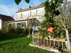 Photo paysage et monuments, Saint-Sulpice-Laurière - notre maison et les dernières pommes reinettes