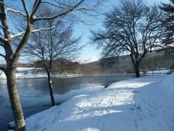 Photo paysage et monuments, Saint-Sulpice-Laurière - étang de la Papeterie St Sulpice Laurière froid