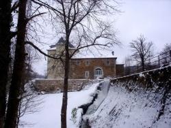 Photo paysage et monuments, Saint-Sulpice-Laurière - Manoir de La Ribière l'hiver