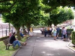 Photo paysage et monuments, Belmont-lès-Darney - Place de l'église à Belmont
