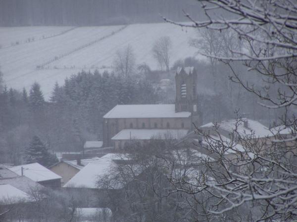 le village dans le brouillard 22.12.2010