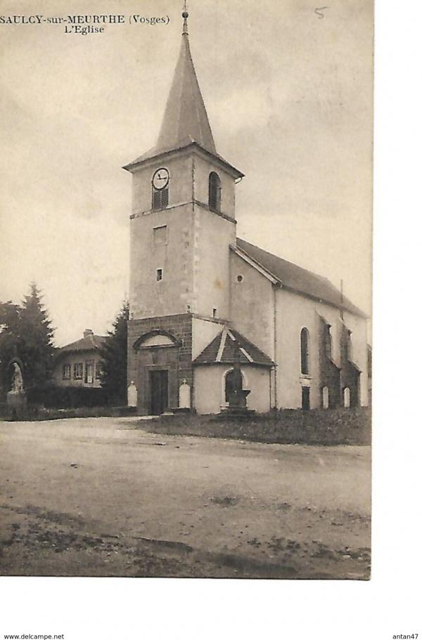 Photo La Croix-aux-Mines - eglise de saulcy sur meurthe