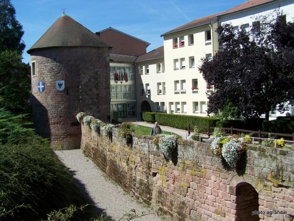 Photo Épinal - Epinal les murailles Xlll-XVll siècles