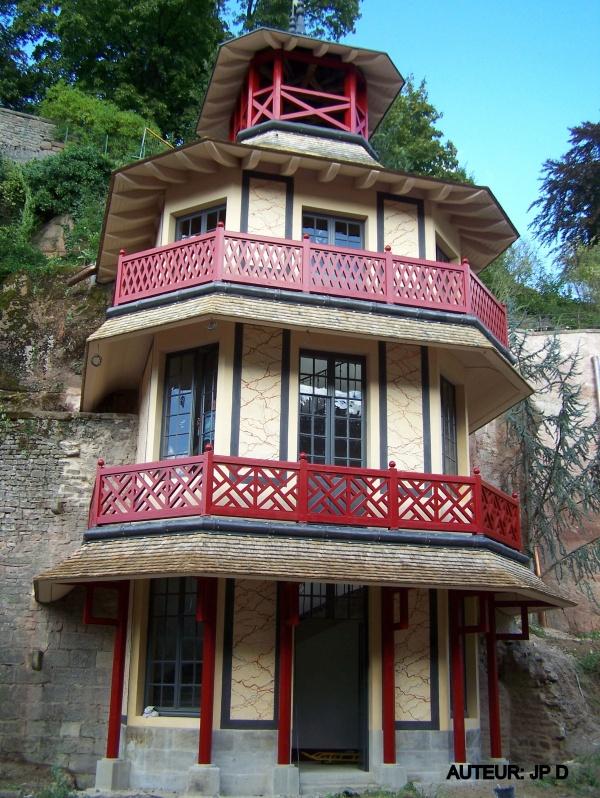 Epinal: La Tour Chinoise restaurée