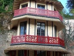 Photo paysage et monuments, Épinal - Epinal: La Tour Chinoise restaurée