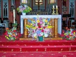 Photo paysage et monuments, Moussey - l' autel de l'église de Moussey