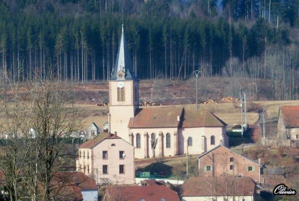 Eglise Le Saulcy 88210...