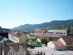 Photo paysage et monuments, Senones - Panorama sur la ville de Senones