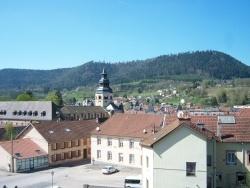 Photo paysage et monuments, Senones - Panorama vu des hauteurs sur Senones