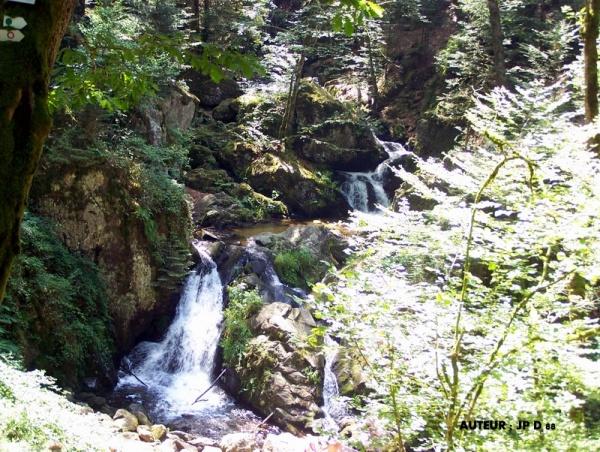 Petite cascade de Tendon Vosges