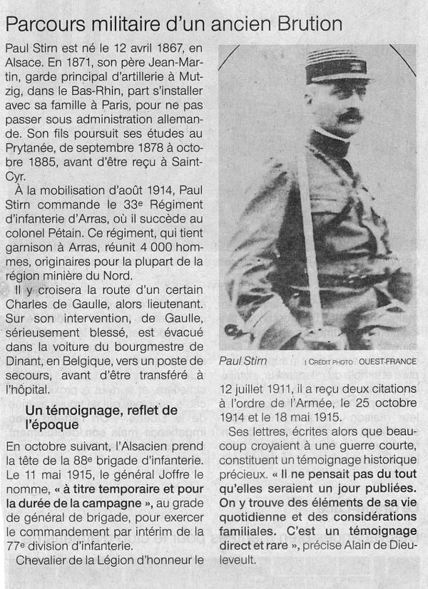 Photo Les Voivres - Lettres centenaires d'un général en campagne 2/2