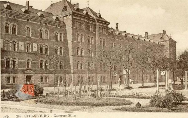 Photo Les Voivres - La caserne Stirn en 1927