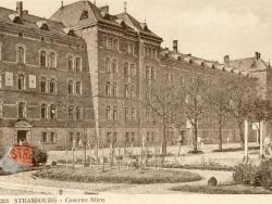 La caserne Stirn en 1927