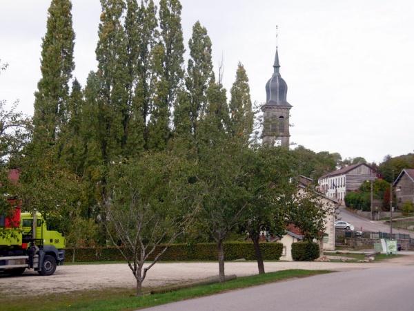 Photo Les Voivres - Clocher de l'Eglise Saint-Rémi à Les Voivres