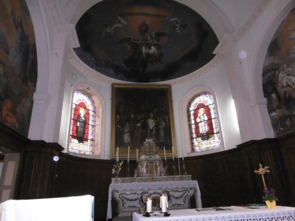 Photo Les Voivres - Eglise Saint-Rémi : le choeur
