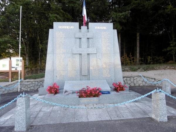 Mémorial du Maquis de Grandrupt-de-Bains