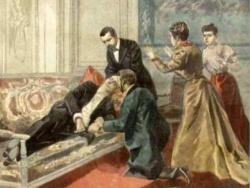 La mort de Félix Faure, au palais de l'Élysée