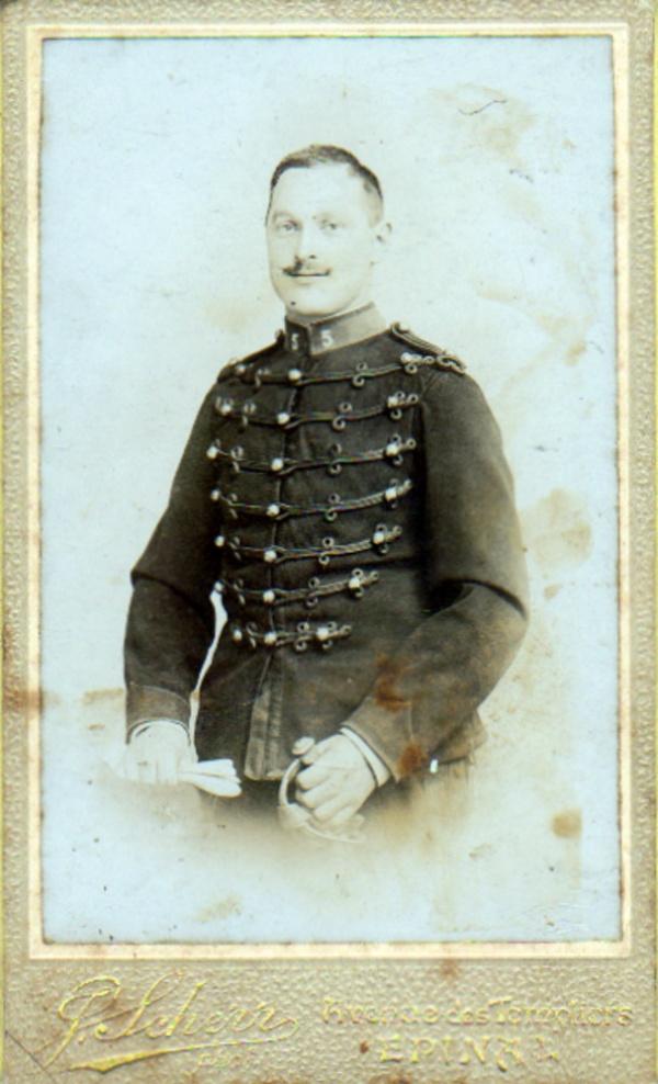 Portrait de Louis Joly