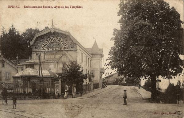 Photo Les Voivres - L'établissement Scherr vers 1906