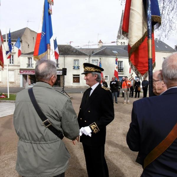 Photo Les Voivres - Remerciements aux Porte-Drapeaux
