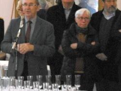 Au vin d'honneur