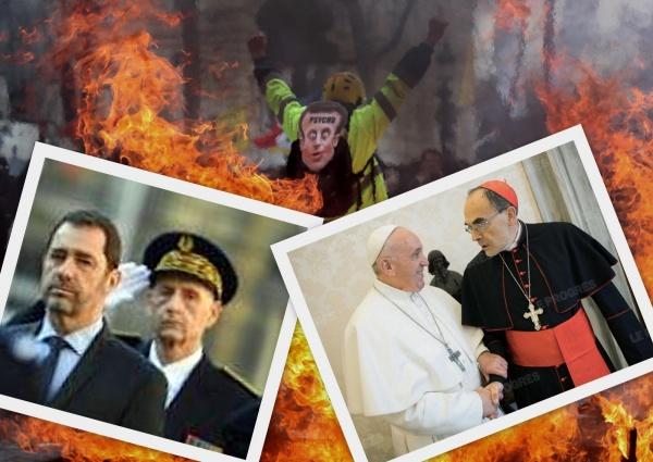 Photo Les Voivres - Flammes de l'enfer ou flammes des casseurs ?