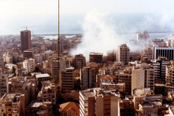 Photo Les Voivres - Vue sur Beyrouth
