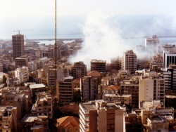 Vue sur Beyrouth