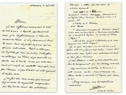 La lettre du capitaine Couëtdic