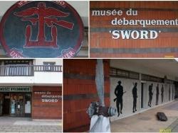 L'entrée du Musée du Débarquement de Sword Beach