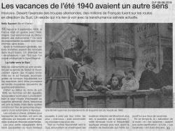 "Les ""vacances"" en 1940"