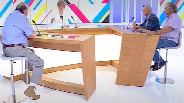 """Le plateau de """"Dimanche en Politique"""""""