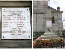 Le Monument aux Morts de Gruey-lès-Surance