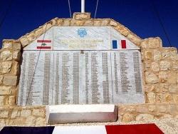 Monument aux Morts à Naqoura