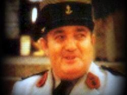 Le colonel Michel Fleutiaux, alors COMDETOBS