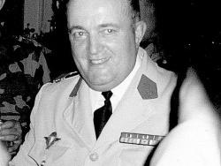 Le futur Général Michel Fleutiaux
