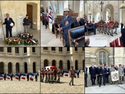 Messe - Honneurs militaires - Inhumation