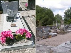 Au cimetière de Les Voivres