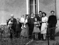 La fratrie en 1941