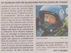 """L'article de """"Ouest-France"""""""